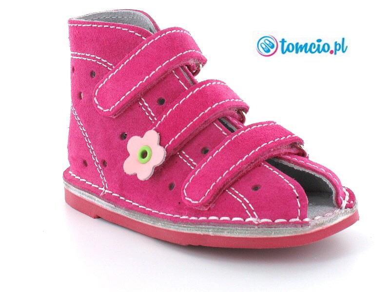 b2b23feb Adamki profilaktyczne buty wzór 013NK, kolor fuksja