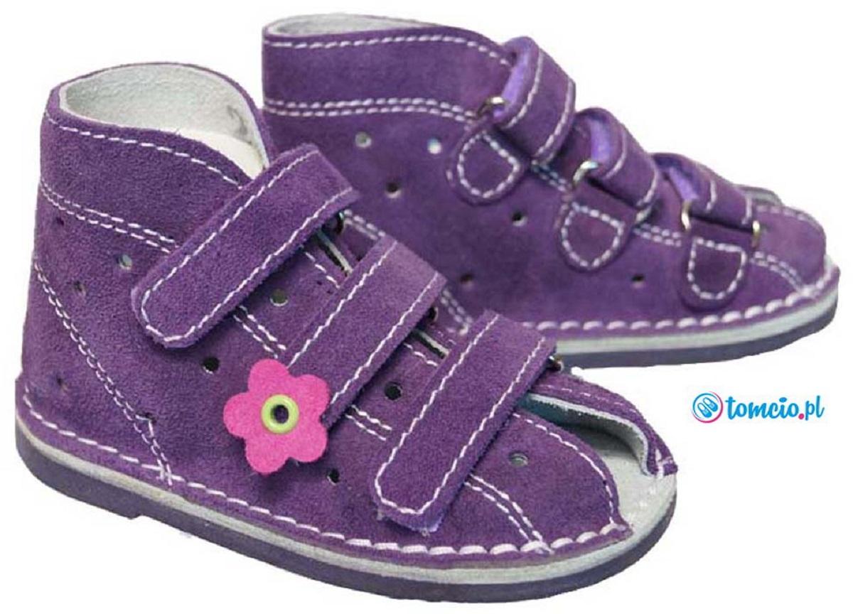 1f584a44 Adamki profilaktyczne buty wzór 013NK kolor fiolet ...