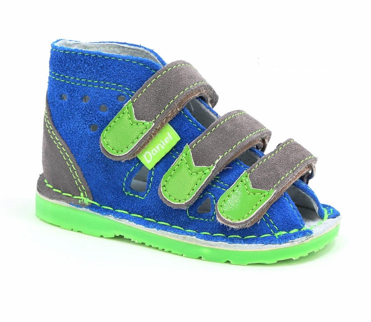 Buty Profilaktyczne Daniel 140 150 Niebiesko Szare
